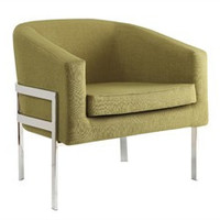 Green & Chrome Contemporary Accent Chair - Coaster 902531