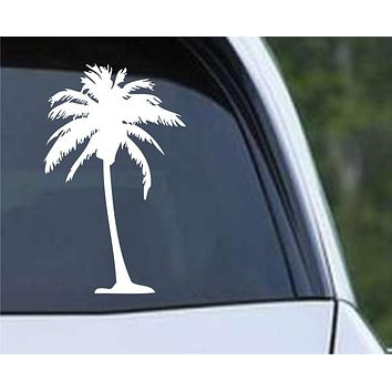 Palm Tree (01) Die Cut Vinyl Decal Sticker