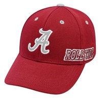 Alabama Top of the World Roll Tide Hat | Alabama Roll Tide Hat | BAMA Memory Fit Hat