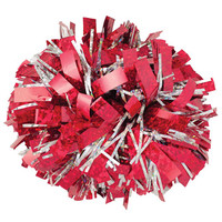 Double Glitter Double Color Reflective Pom poms | Team Cheer