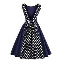 50s  Elegant  Retro Dress
