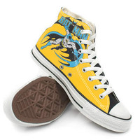 Batman High Shoes,High Top,canvas shoes,Painted Shoes,Special Christmas Gift,Birthday gift,Men Shoes,Women Shoes