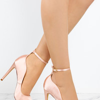 High Confidence - Blush Satin