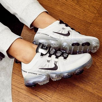 NIKE Sneakers Sport Shoes Vapormax White/Silver