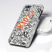 Paramore Riot Letter AA0087   Design  iPhone 4 / 4S / by criscases