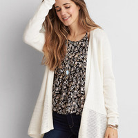 AEO OPEN STITCH CARDIGAN