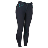 Piper Classic Knee Patch Breeches- Side Zip