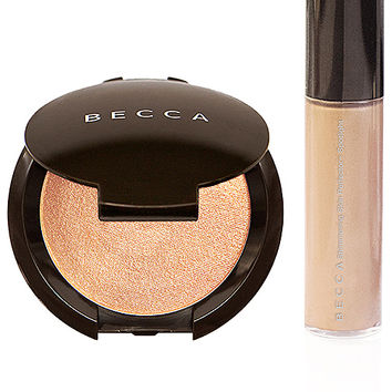 BECCA Champagne Glow On The Go Kit in Champagne Pop | REVOLVE