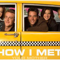 How I Met Your Mother Taxi Cab TV Show Cast Poster 11x17