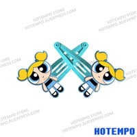 Powerpuff Girls Action Figure Blossom Bubbles Cartoon Buttercup TV Figure Toys Kid Hair Clips for Girls HairPins-in Action & Toy Figures from Toys & Hobbies on Aliexpress.com | Alibaba Group