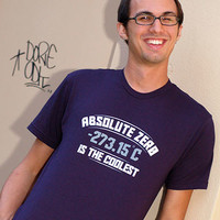 Absolute Zero Is The Coolest T-Shirt | SnorgTees