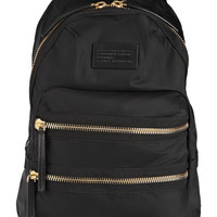 Marc by Marc Jacobs - Domo Arigato leather-trimmed canvas backpack