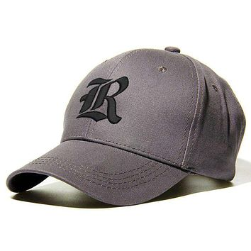 Old English Custom Embroidery Baseball Hat - Personalize with your Initial