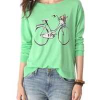 Joie Bicycle Intarsia Sweater   SHOPBOP