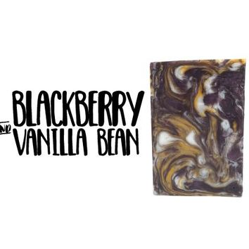 Blackberry & Vanilla Bean / Glycerin Soap
