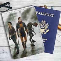 Half-life Gameplay Leather Passport Wallet Case Cover