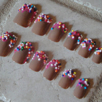 Set of Artificial Nails - Dunkin Do-Nails