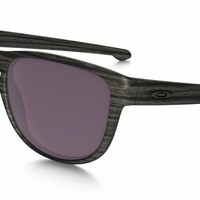 OAKLEY SLIVER ROUND PRIZM DAILY POLARIZED, WOODGRAIN COLLECTION OO9342-11