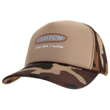 Clutch - Camo Trucker Cap
