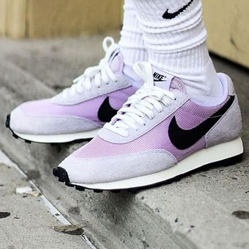 Bunchsun Nike Daybreak Fashionable Women Classic Sport Jogging Shoes Sneakers Purple&Black