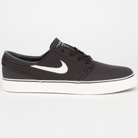 Nike Sb Zoom Stefan Janoski Canvas Mens Shoes Anthracite/Ivory/Black  In Sizes