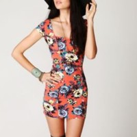 Free People Cage Back Bodycon Slip