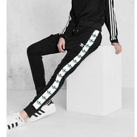 Adidas Women Men Fashion Print Sport Stretch Pants Trousers Sweatpants