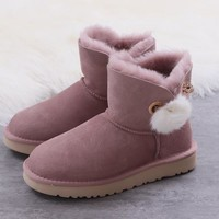Women's UGG snow boots Low boots DHL _1686248855-385