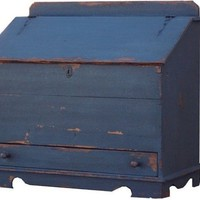 Painted primitive reproduction blanket chest by JosephSpinaleFurn