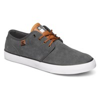 DC Studio S Shoe (Grey/Grey/White) Shoes Mens Shoes at 7TWENTY Boardshop, Inc