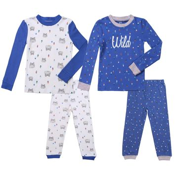 Fairy Baby Newborn Baby Unisex 5pcs Clothes Outfit Soft Organic Cotton Layette Set