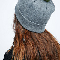B-Side by Walé Bobble Beanie in Grey - Urban Outfitters