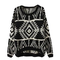 Ninimour- Women's Autumn Knitted Sweater Loose Pullover Outwear:Amazon:Clothing