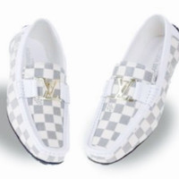 Men's Louis Vuitton Leather Loafers