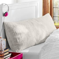 Sherpa Body Pillow Cover
