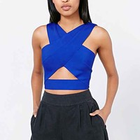 Silence + Noise Gramercy Cropped Top