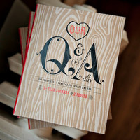OUR Q&A A DAY: 3 YEAR JOURNAL 2 PEOPLE