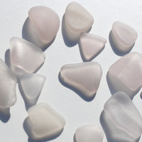 Soft Lavender Sea Glass Lavender Beach Glass 13 pcs