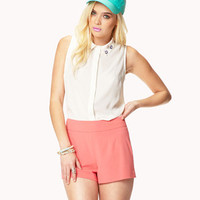 High-Waisted Shorts   FOREVER 21 - 2024269832