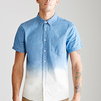 Dip-Dye Chambray Shirt