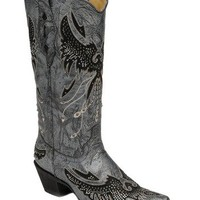 Corral Ladies Eagle With Crystals Western Boot