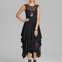 Free People Slip Dress - Stretch Lace French Court