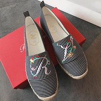 Roger Vivier Women Fashion Simple Casual Loafers  Shoes