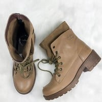 COOLWAY Brooks Beige Ankle Boots