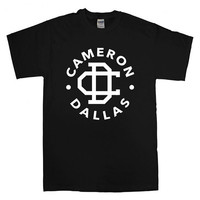 cameron dallas logo For T-Shirt Unisex Adults size S-2XL