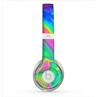 The Neon Color Fushion V3 Skin for the Beats by Dre Solo 2 Headphones