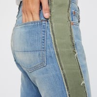 Free People Maggie Deconstructed Tux Jeans