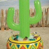 4ft Inflatable Vinyl Cactus Cooler