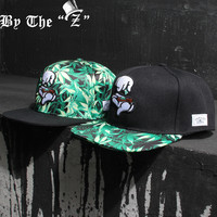 New Fashion Summer Style Caps Girls hats Snapbacks Leaf