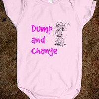 Dump and change for girls